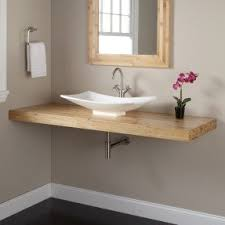 Vanity For Bathroom Sink Vanity Tops For Vessel Sinks Foter