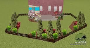 landscape design photos landscape landscaping ideas with pavers arborvitae privacy