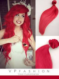 vp hair extensions hot solid mermaid colorful india remy clip in hair extension