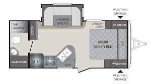 rear kitchen rv floor plans home design inspirations