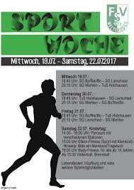 Vfl Bad Ems Plakat Sportwoche U2013 Fsv Welterod 1972 E V