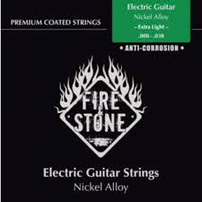 Light Guitar Strings by Fire U0026 Stone E Guitar Strings 08 38 Coated Extra Light