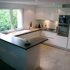 cuisine moderne en u 53 variantes pour les cuisines blanches cuisine kitchens and