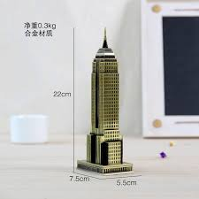 large modern home new york empire state building metal building