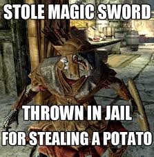 Funny Skyrim Memes - skyrim meme dump album on imgur