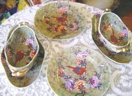 antique china pattern china spode tumbledown pattern tea set