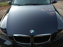 bmw 325i monaco blue 9 year old paint detail before and after