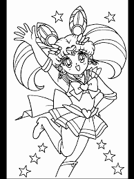 sailor mini moon coloring pages coloring