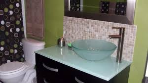bathroom vanity backsplash ideas bathroom vanity backsplash advice for your would you tile the side