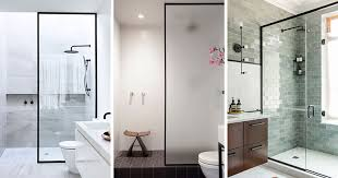 Black Shower Door Bathroom Design Idea Black Shower Frames Contemporist