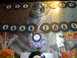 Disco Party Centerpieces Ideas by Disco Party Sweetness And Delight