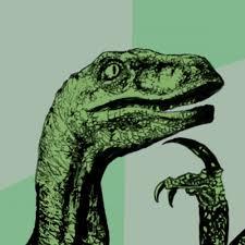 create meme philosoraptor philosoraptor dinosaurs meme