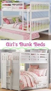 Loft Bed Designs For Teenage Girls Best 20 Bunk Beds For Girls Ideas On Pinterest Girls Bunk Beds