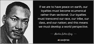 martin luther king jr quote if we are to peace on earth