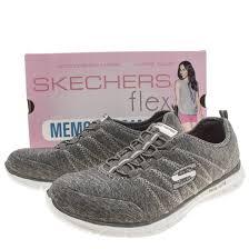 buy skechers shoes womens grey u003e off48 discounted