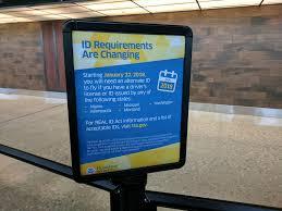 realid notice tsa pre check line dulles airport washing u2026 flickr