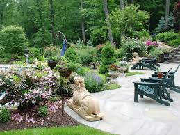 Flowers For Backyard by Cool Landscaping Ideas For Backyard