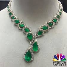 emerald stone necklace jewelry images Pin by premium sapphire on gemstone jewelry pinterest jpg