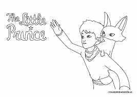 the little prince 2015 coloring pages