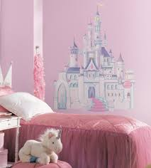 amazon com roommates rmk1546gm disney princess glitter castle disney s enchanted castle view larger