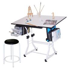 Drafting Drawing Table Art Hobby Desk Craft For Kids And Artists