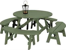 Plans For Making A Round Picnic Table by Best 25 Round Picnic Table Ideas On Pinterest Picnic Tables