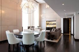 incredible modern crystal chandeliers for dining room modern