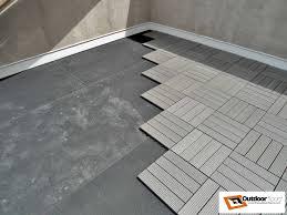 grey ridged patio tiles terrace floor u2022 outdoor floors