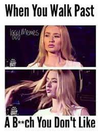 Flips Hair Meme - who dat who dat i g g y memes