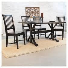 carolina cottage dining table florence 60 trestle table carolina cottage target