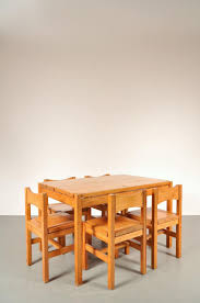 oak dining room set by ilmari tapiovaara for laukaan puu 1970s
