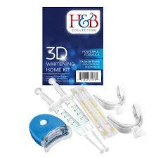 amazon com h u0026b collection teeth whitening kit health u0026 personal care