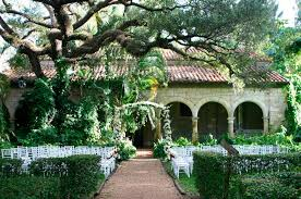 inexpensive wedding venues island top 6 garden wedding venues florida davis island garden club005