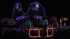 christmas light show house music christmas lights to music fun house in san luis obispo youtube