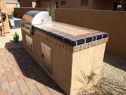 stunning outdoor tile countertop images home design ideas