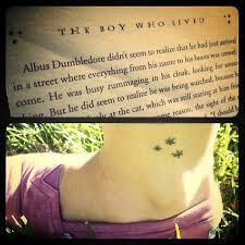 the 25 best harry potter star tattoo ideas on pinterest star