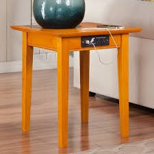 charging station end table u2013 table idea