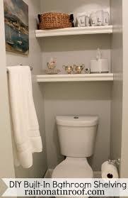 bathroom take the advantages of bathroom storage shelves