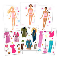 7 images barbie paper dolls printable free printable