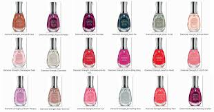 everbluec sally hansen diamond strength no chip nail colors and