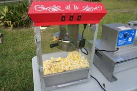 popcorn rental machine popcorn machines houston tx sky high party rentals