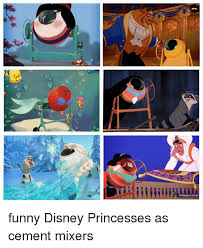 Funny Disney Memes - ahnegaocombr funny disney princesses as cement mixers meme on me me