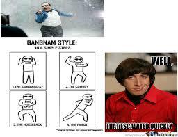 Gangnam Style Meme - oppa gangnam style by aruther123 meme center
