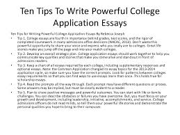 Example Resume For College Application by Good College Essays Examples 12 Example Writing Good College