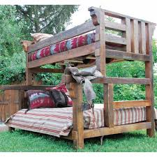 Rustic Bunk Bed Plans Twin Over Full by 30 Best Bunk Beds Images On Pinterest 3 4 Beds Full Bunk Beds