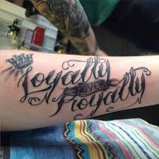 11 heartfelt loyalty over royalty tattoos