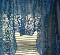 Blue Swag Curtains 17 Best Vintage Lace Curtains Images On Pinterest Vintage Lace
