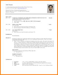 simple resume sle for fresh graduate pdf converter resume for science graduates computer science student resume
