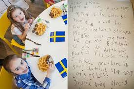 ikea birthday party little girl s brilliant letter lands her dream birthday party at