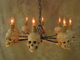 light bulb vintage horror flicker skull a vintage light bulb haunted house lighting the horror dome